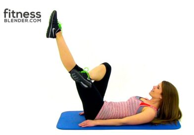10 Minute Abs & Obliques Workout – Lean Toned Stomach Workout